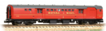 374-901B Graham Farish BR Mk I TPO Coach Royal Mail Travelling Post Office Red